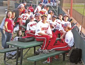 The Schereville, Ind., 13-15-year-old team came to Longview for the Babe Ruth World Series in August, but stayed on Mayfair Lake north of town thanks to a wealthy friend from Kitsap County. Photo by Brooks Johnson